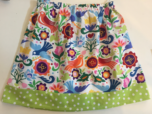 Simple Skirt (Adult or Teen Beginner)