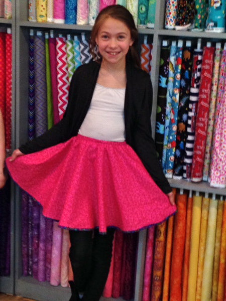 Reversible Circle Skirt (Kid or Tween Intermediate)