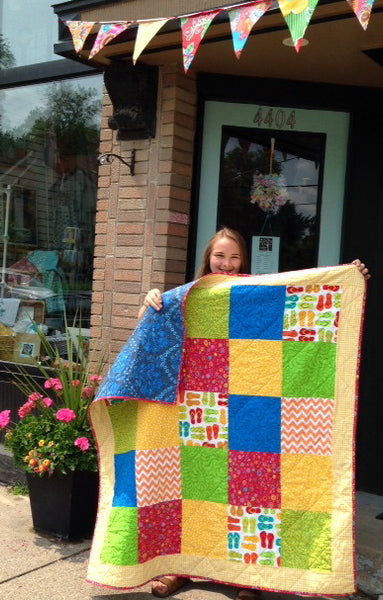 Learn To Quilt 2 Camp