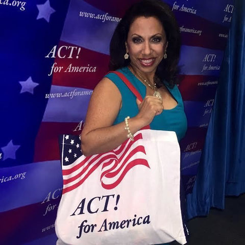"ACT for America ""Canva"" Tote"