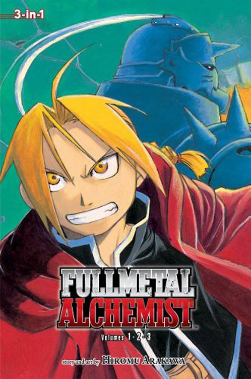 FULLMETAL ALCHEMIST 3IN1 TP VOL 01