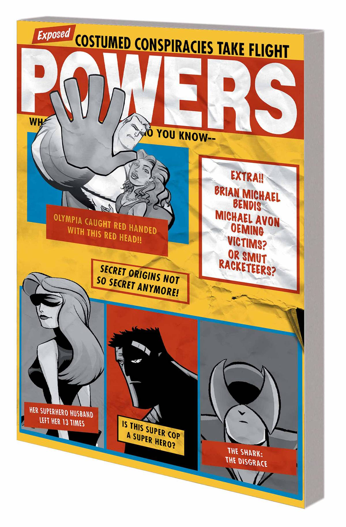 POWERS TP VOL 03 LITTLE DEATHS NEW PTG