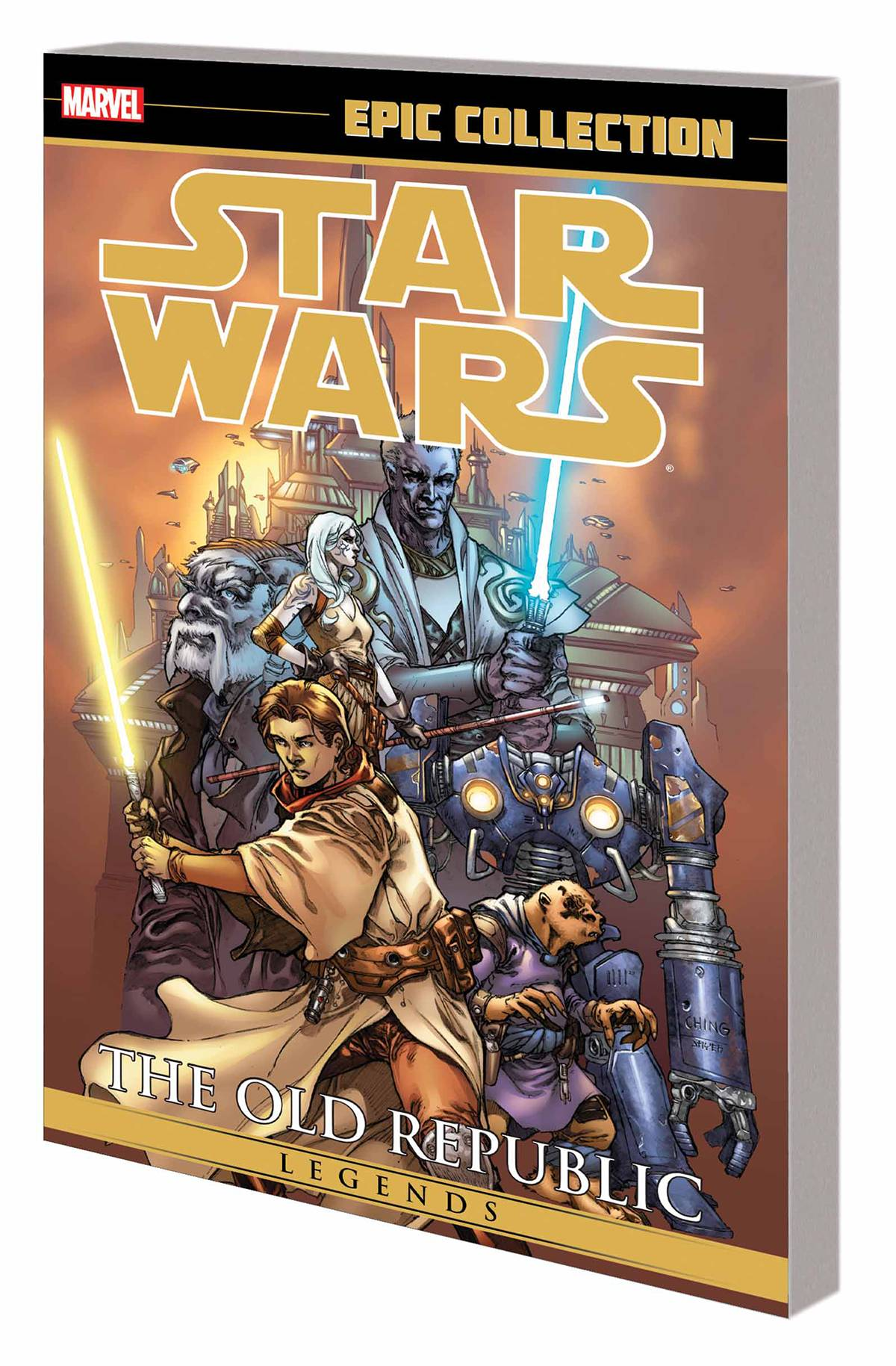 STAR WARS LEGENDS EPIC COLLECTION TP VOL 01 OLD REPUBLIC