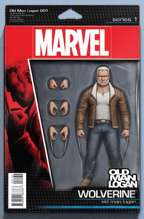 OLD MAN LOGAN #1 CHRISTOPHER ACTION FIGURE VAR