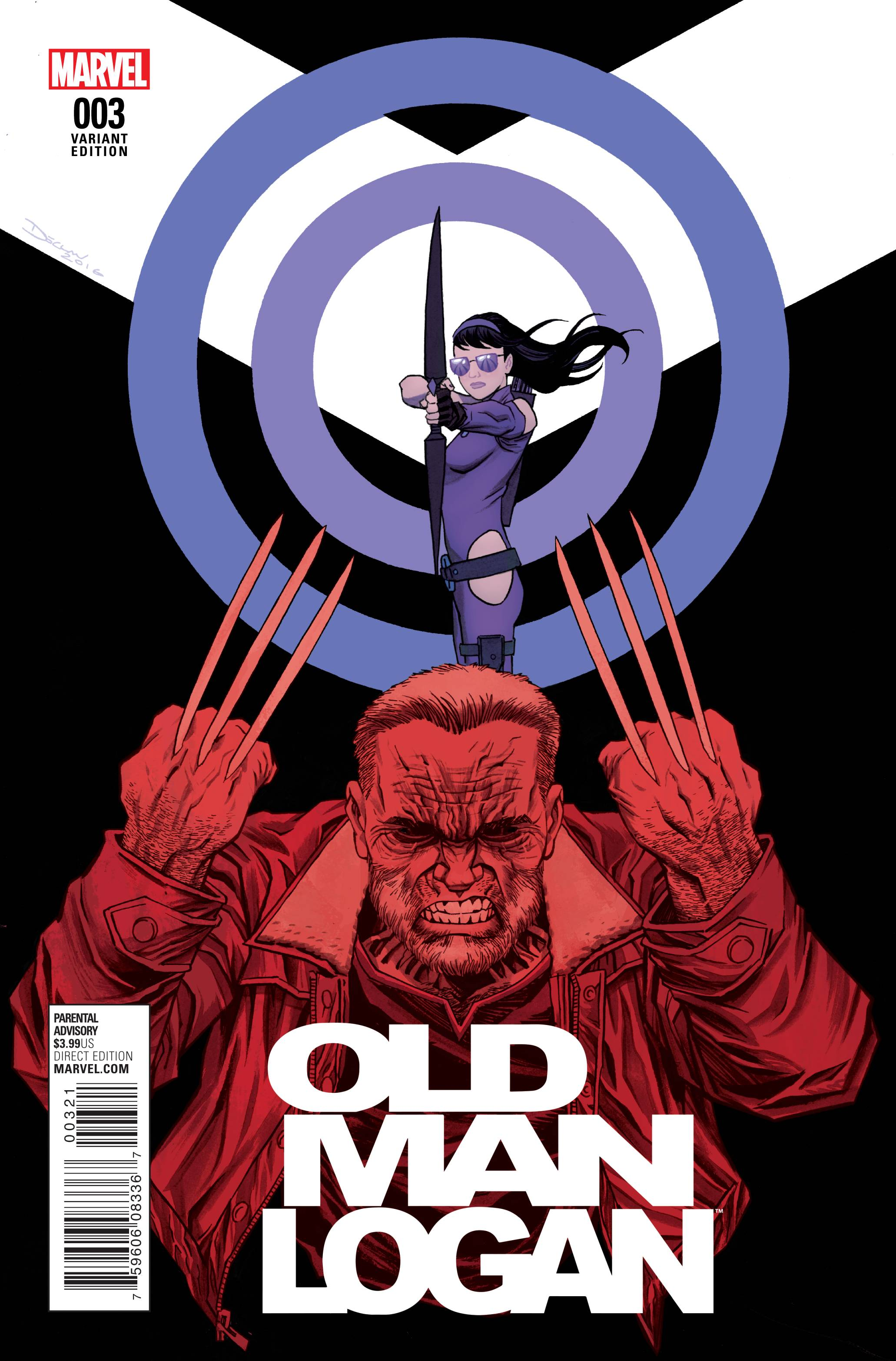 OLD MAN LOGAN #3 SHALVEY VAR
