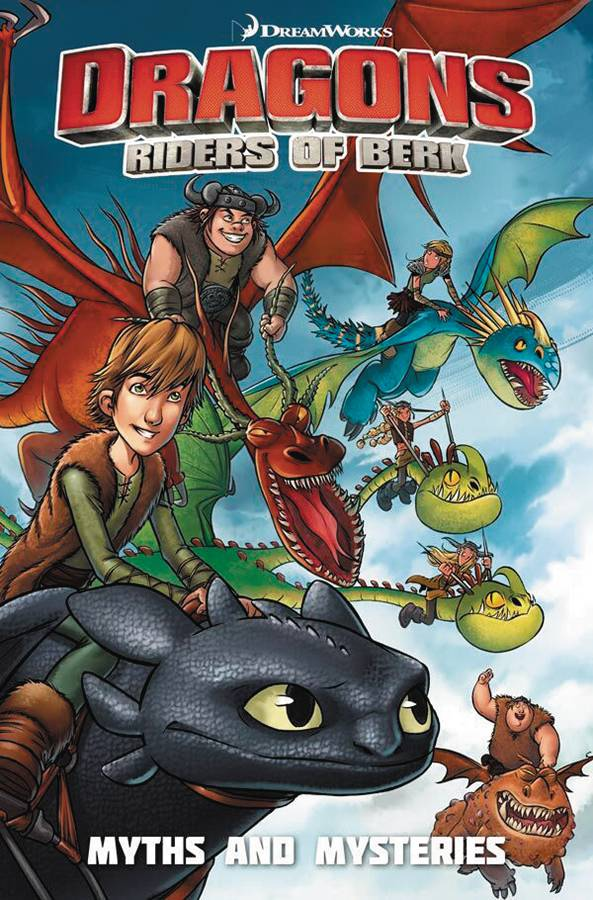 DRAGONS RIDERS OF BERK COLLECTION TP VOL 03