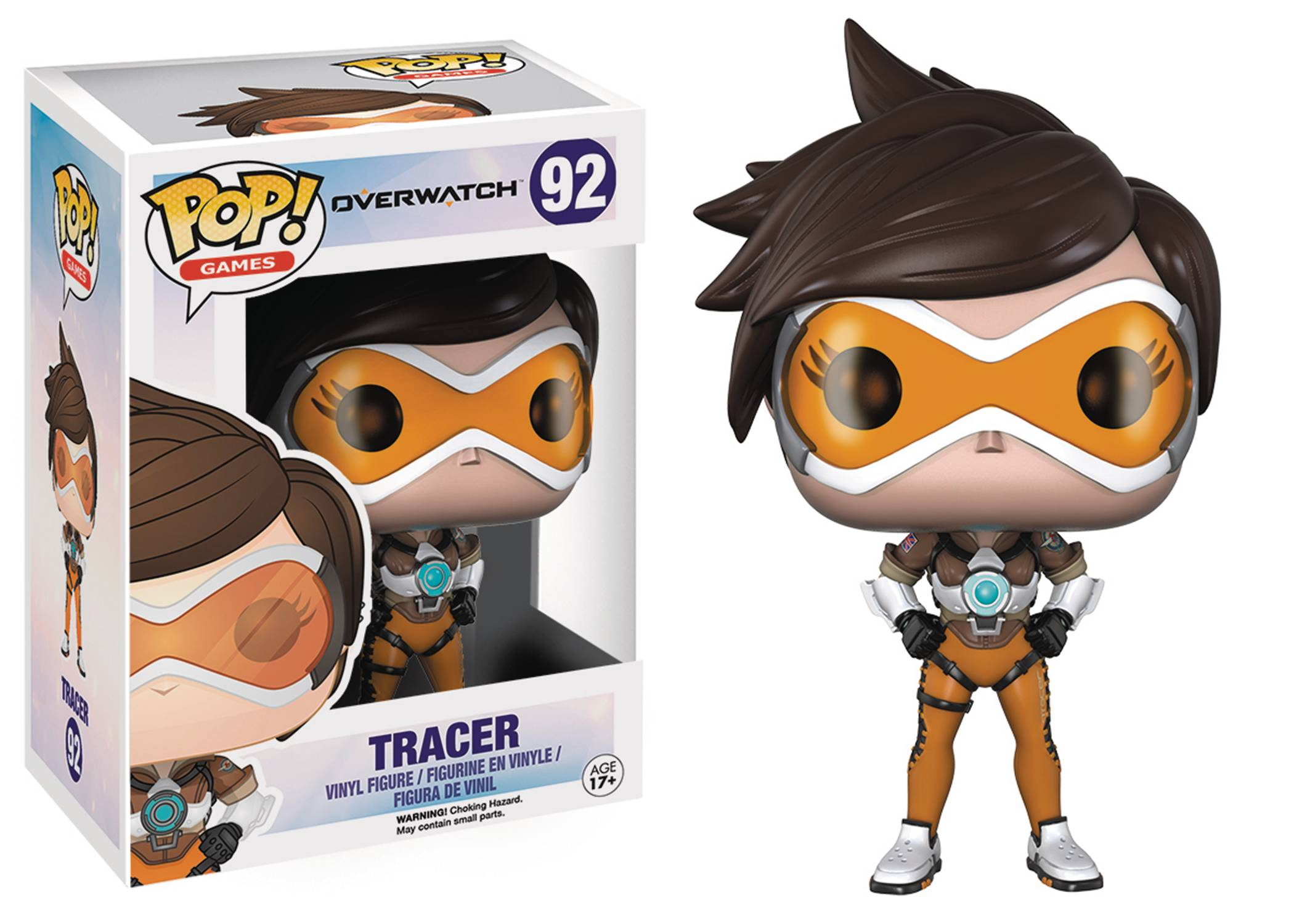 POP OVERWATCH TRACER VINYL FIG