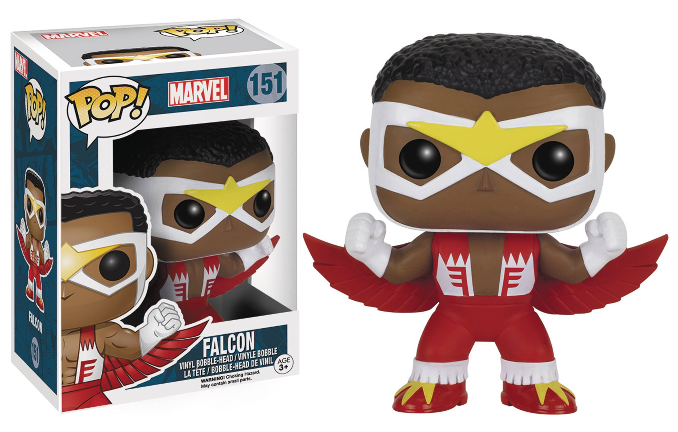 POP MARVEL FALCON CLASSIC VINYL FIG