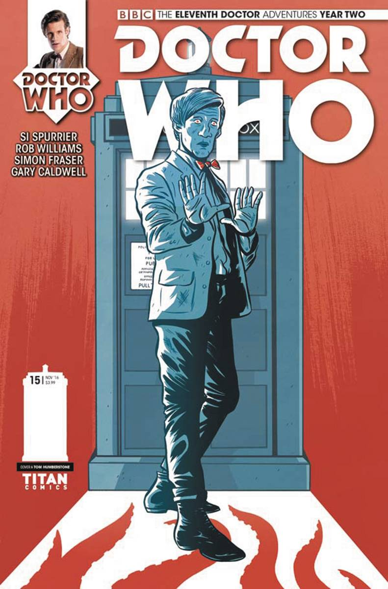 DOCTOR WHO 11TH YEAR TWO #15 CVR A HUMBERSTONE