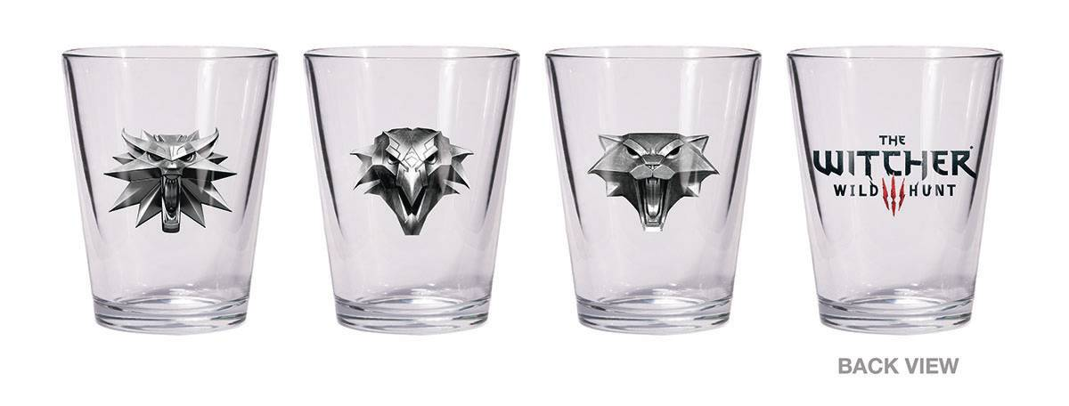 WITCHER SHOT GLASS SET