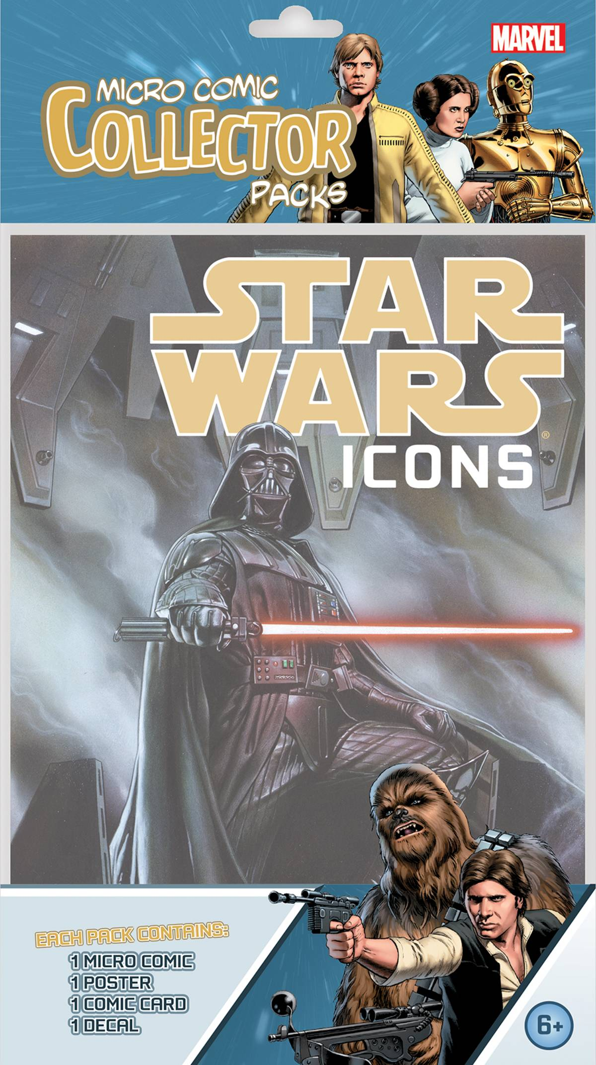 STAR WARS ICONS MICRO COLLECTOR PACK