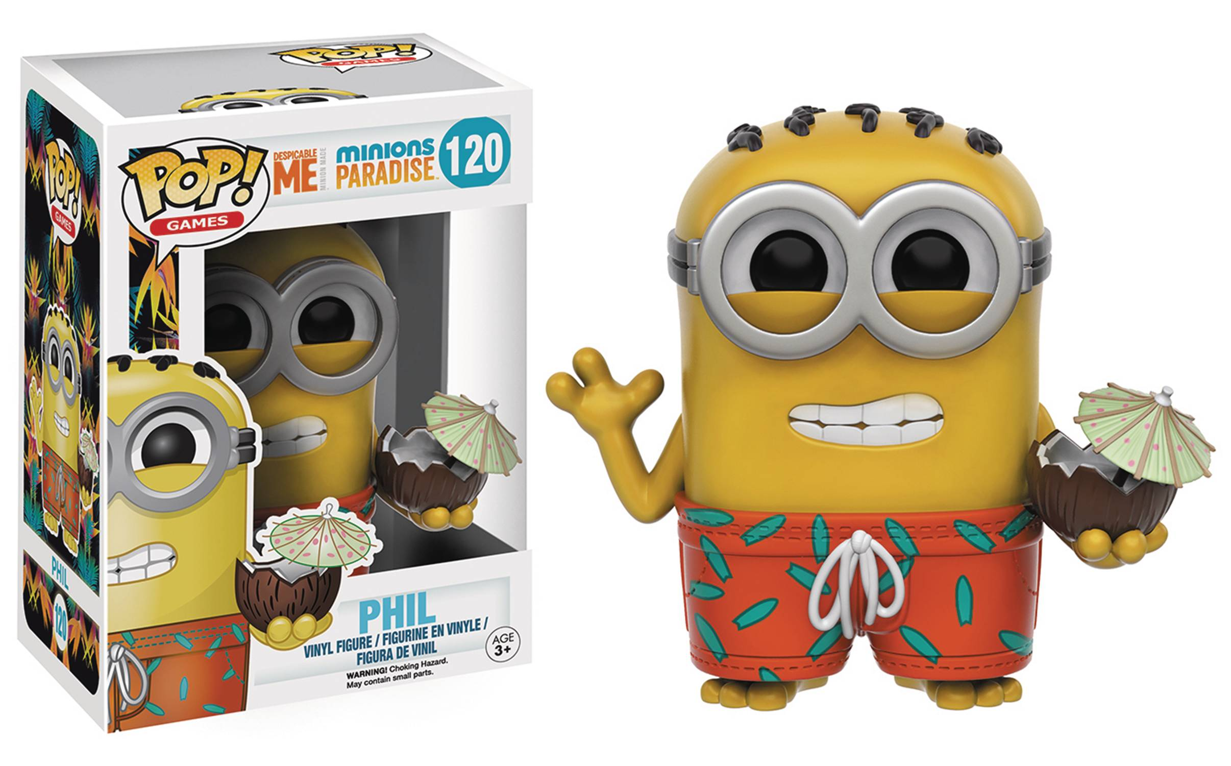 POP MINIONS PARADISE COCONUT VINYL FIG