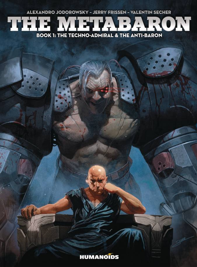 METABARON HC BOOK 01 TECHNO ADMIRAL ANTI BARON