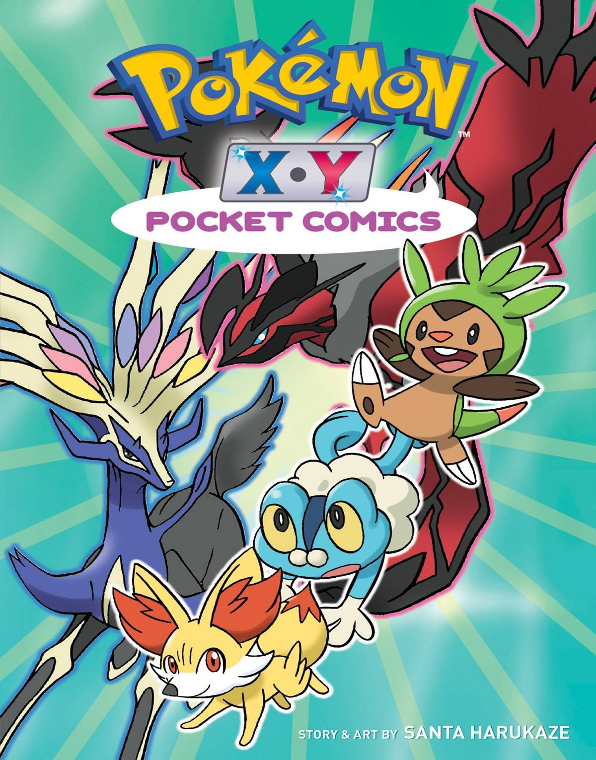 POKEMON POCKET COMICS XY GN