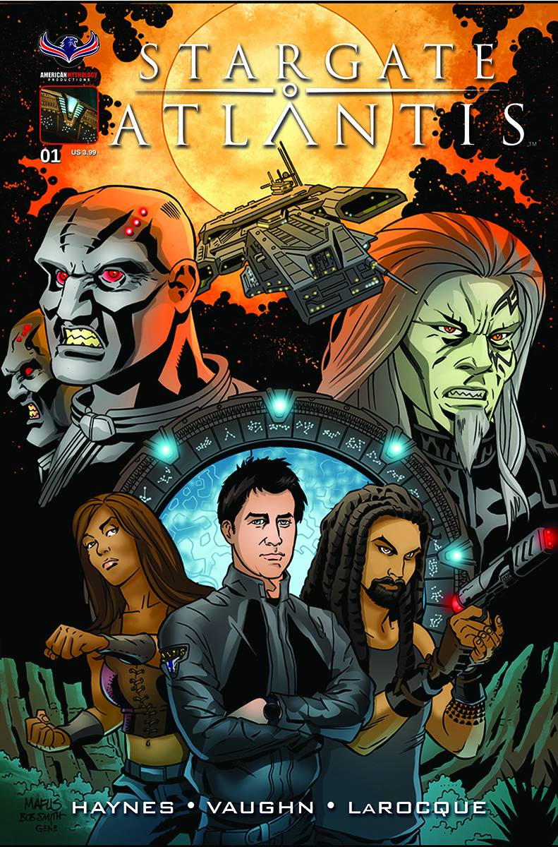 STARGATE ATLANTIS GATEWAYS #1 MAIN CVR