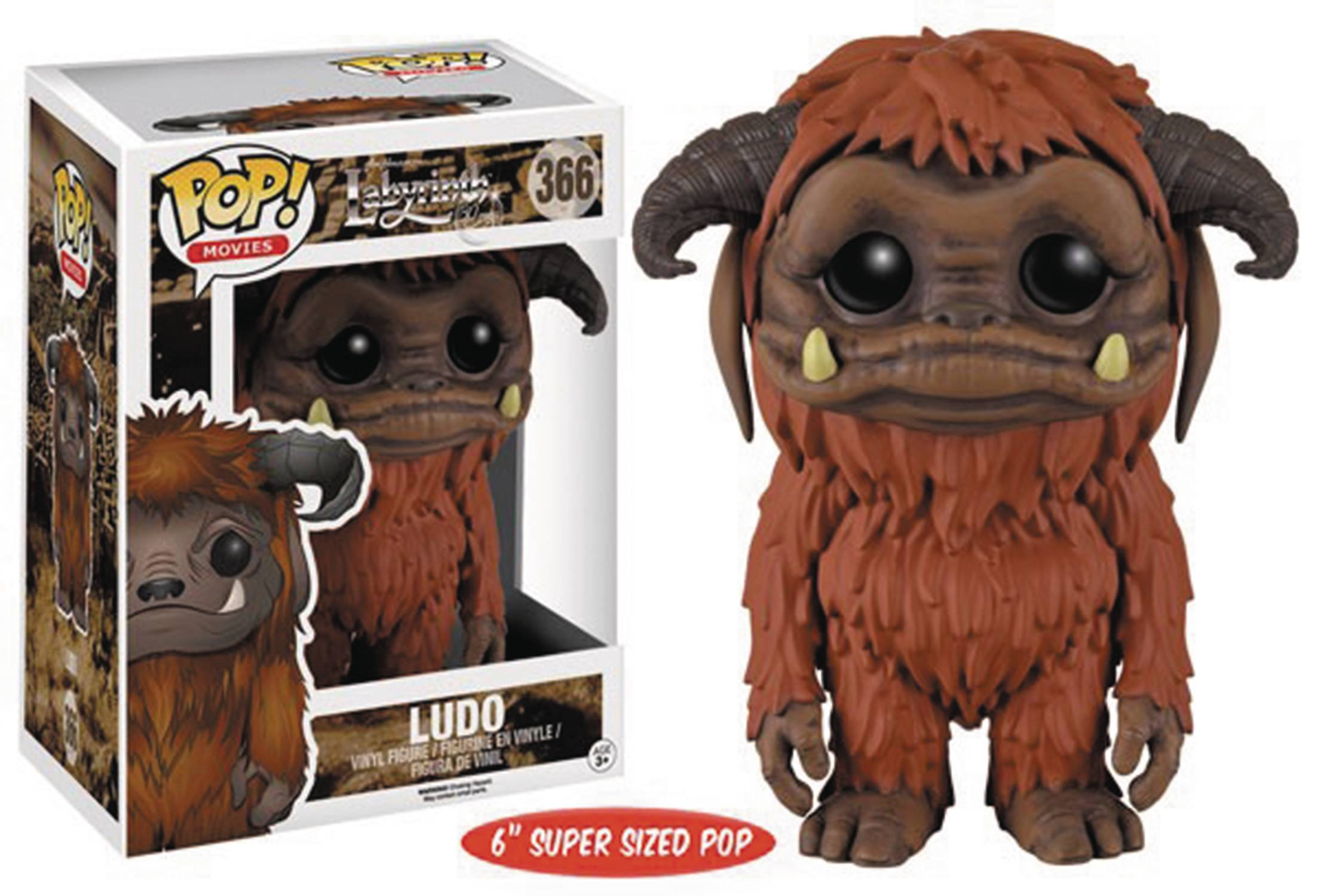 POP LABYRINTH LUDO 6IN VINYL FIG