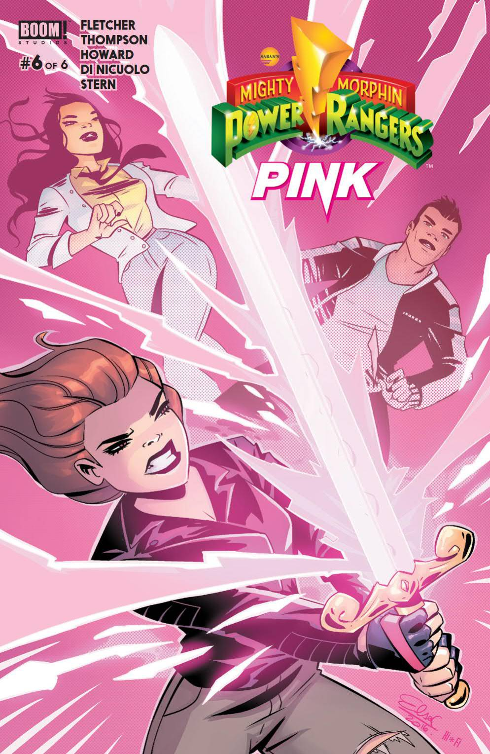 POWER RANGERS PINK #6