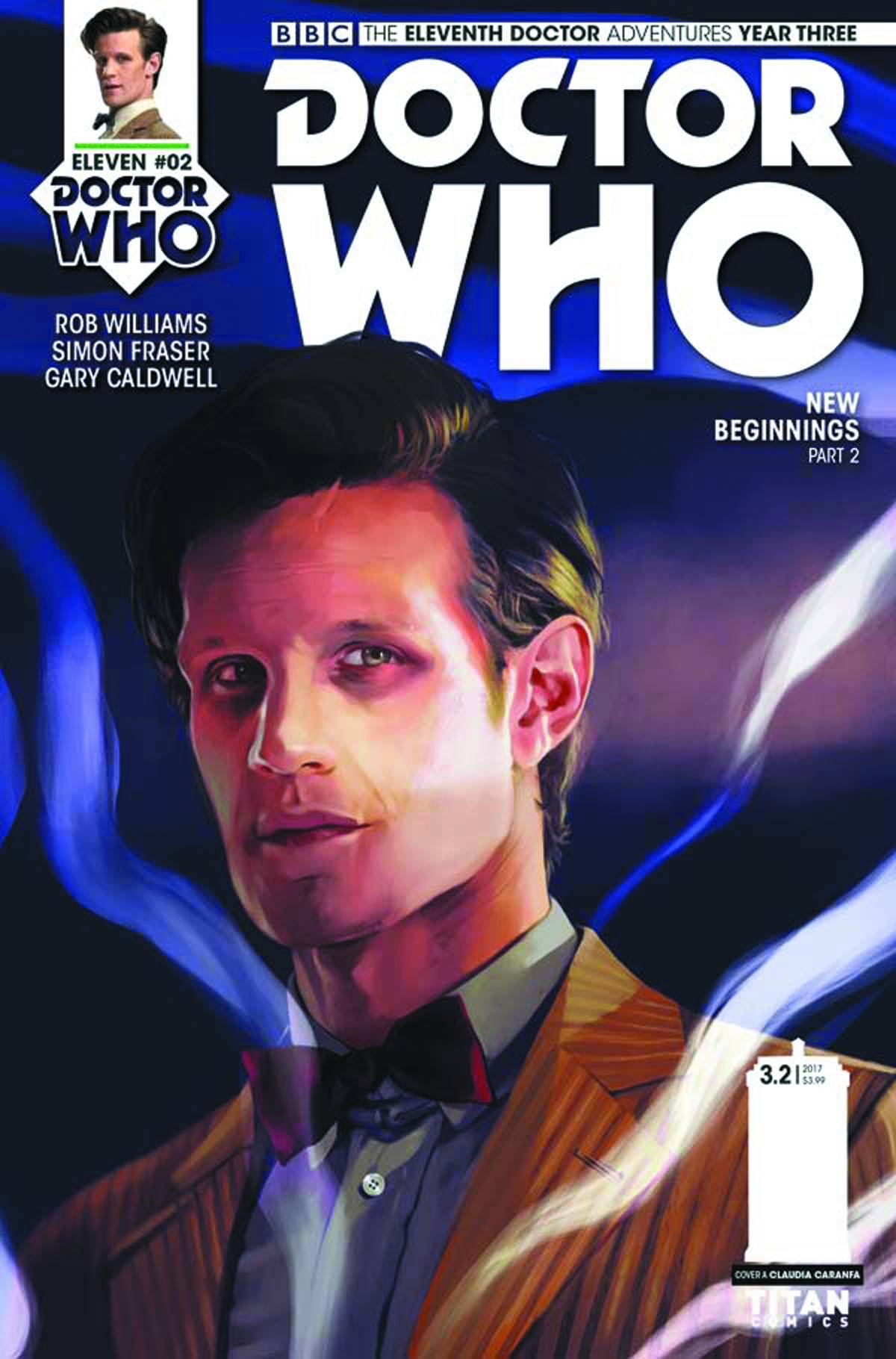 DOCTOR WHO 11TH YEAR THREE #2 CVR A CARANFA