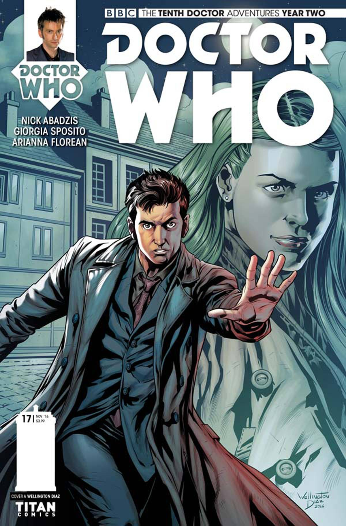 DOCTOR WHO 10TH YEAR TWO #17 CVR A DIAZ