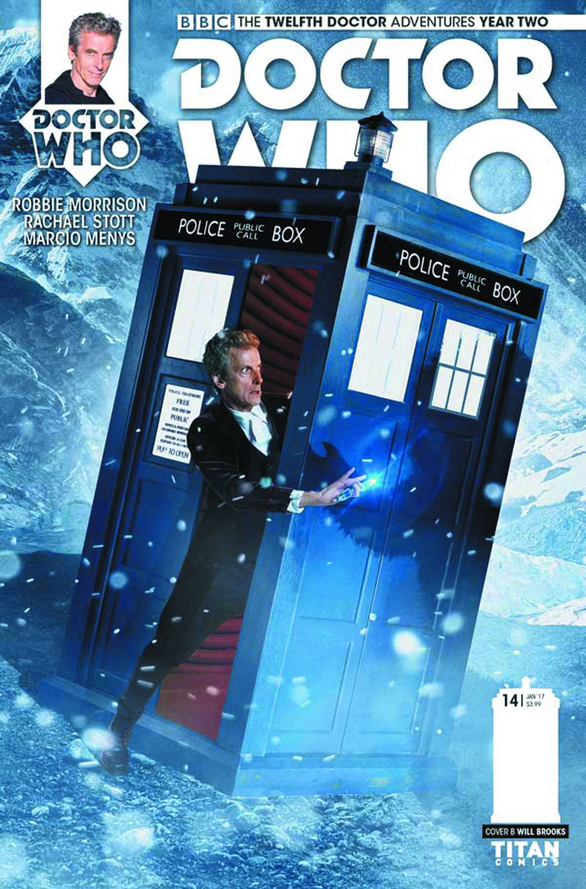 DOCTOR WHO 12TH YEAR TWO #14 CVR B PHOTO