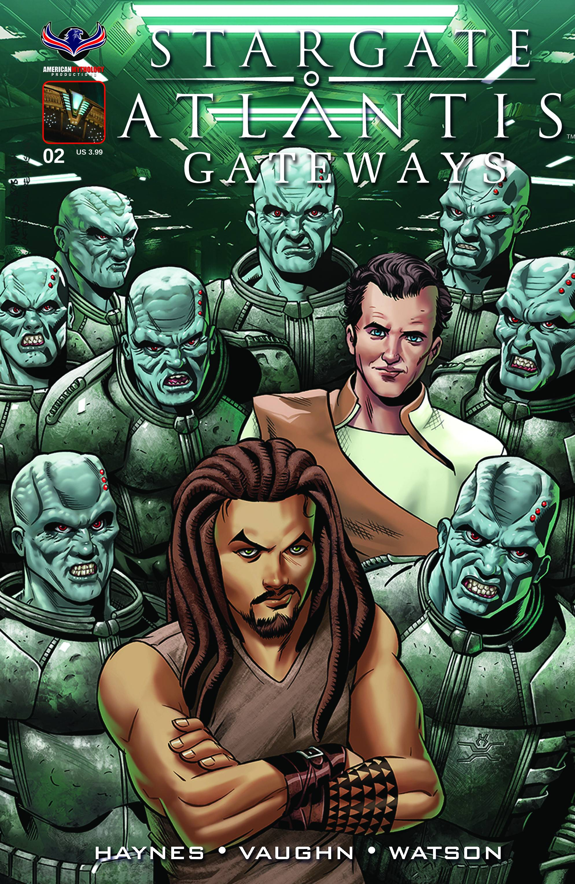 STARGATE ATLANTIS GATEWAYS #2 MAIN CVR WIERINGO