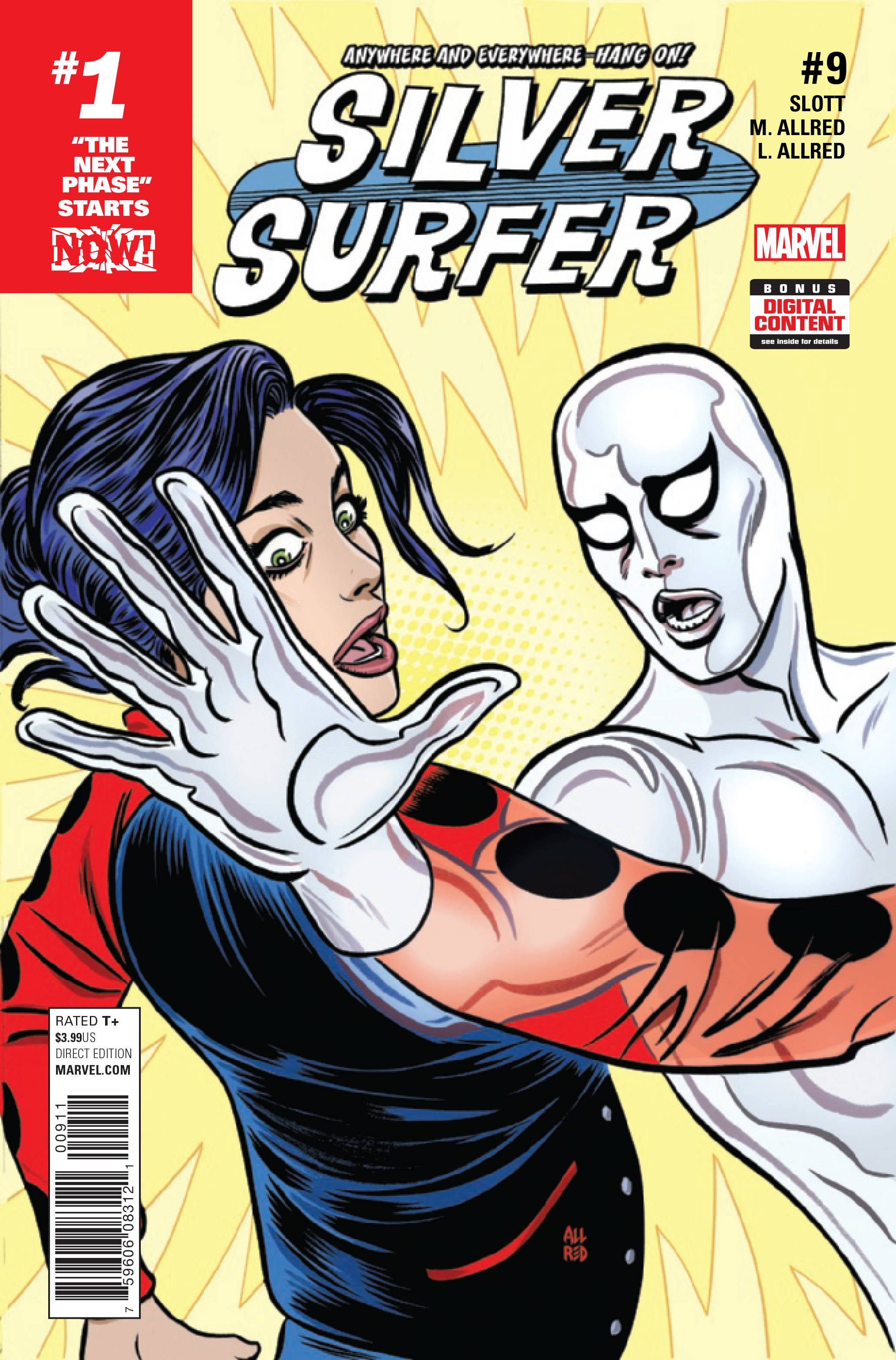 SILVER SURFER #9 NOW