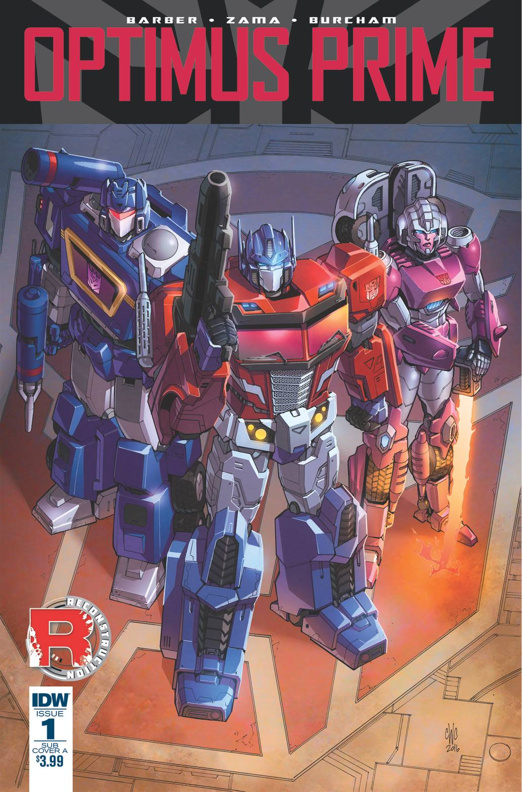 OPTIMUS PRIME #1 SUBSCRIPTION VAR A