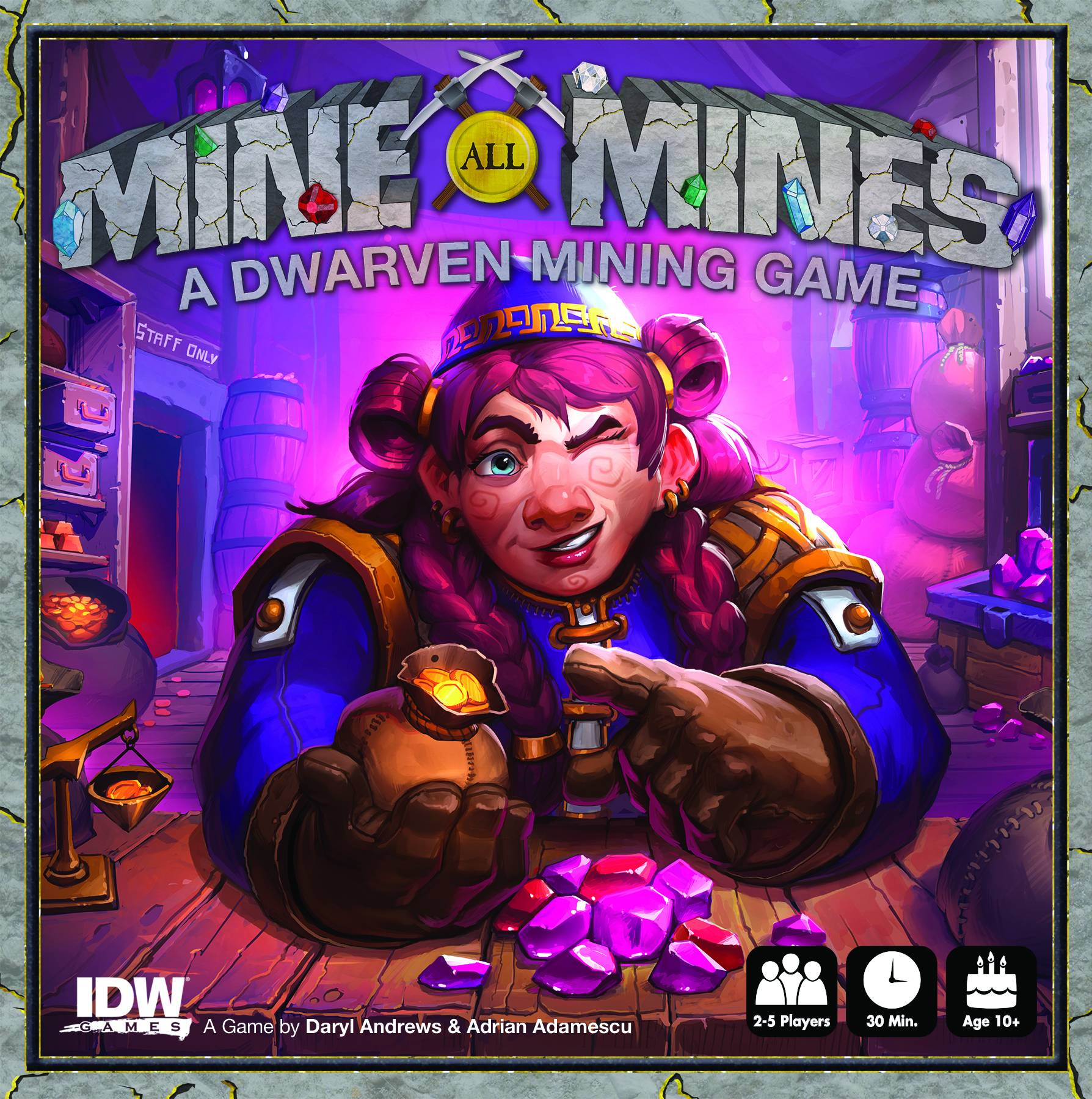 MINE ALL MINES CARD GAME