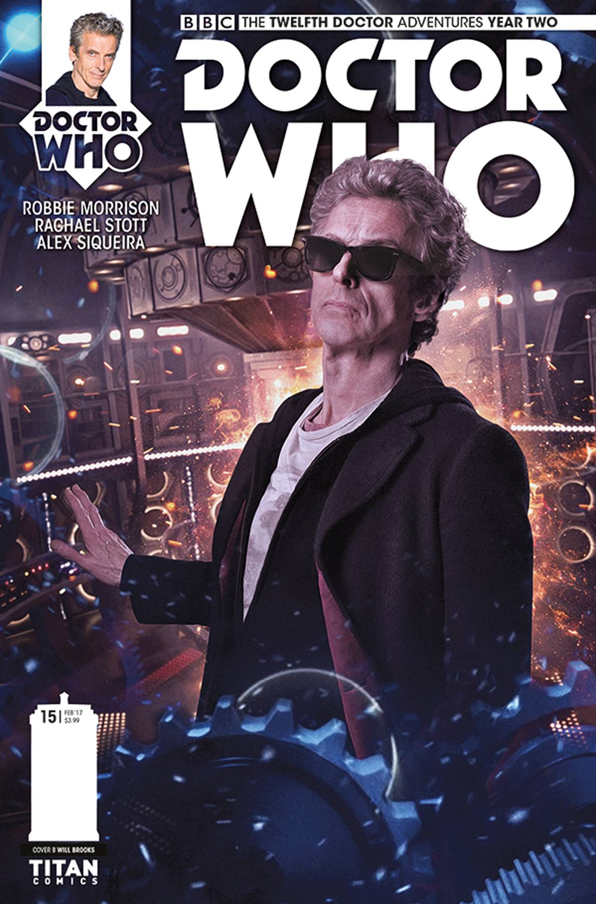 DOCTOR WHO 12TH YEAR TWO #15 CVR B PHOTO