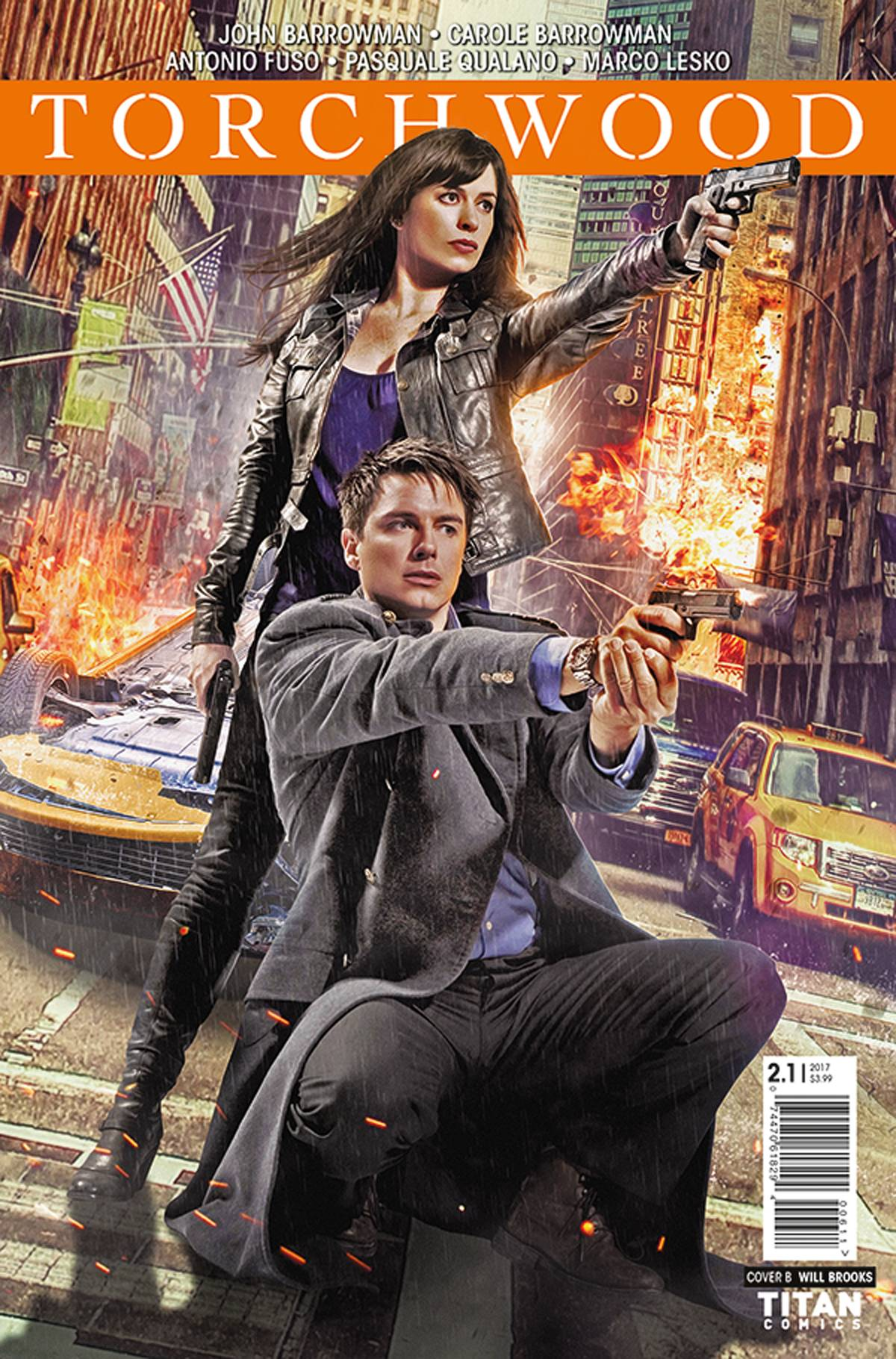 TORCHWOOD 2 #1 CVR B PHOTO