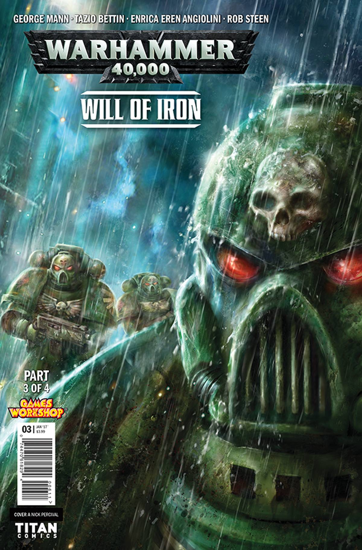 WARHAMMER 40000 WILL OF IRON #3 (OF 4) CVR A PERCIVAL