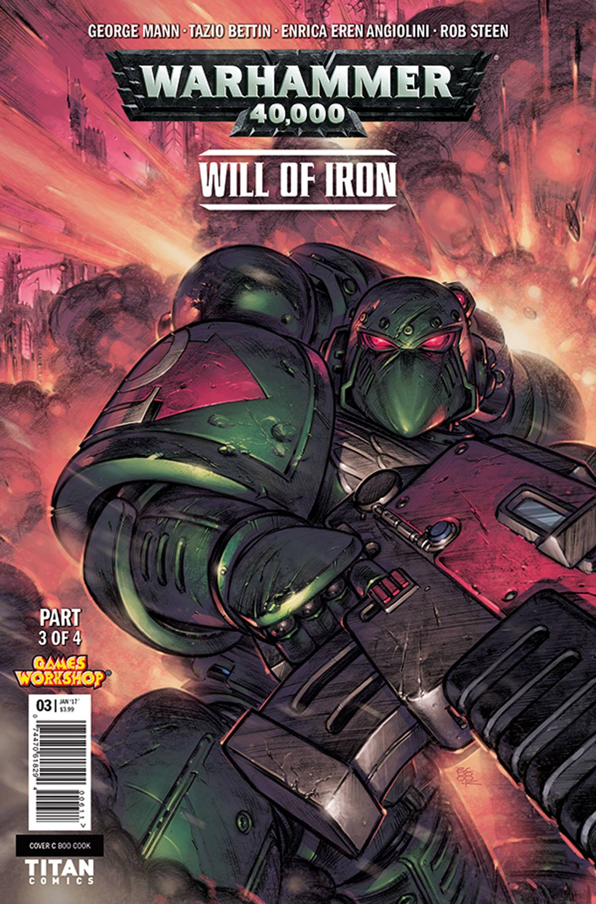 WARHAMMER 40000 WILL OF IRON #3 (OF 4) CVR C COOK