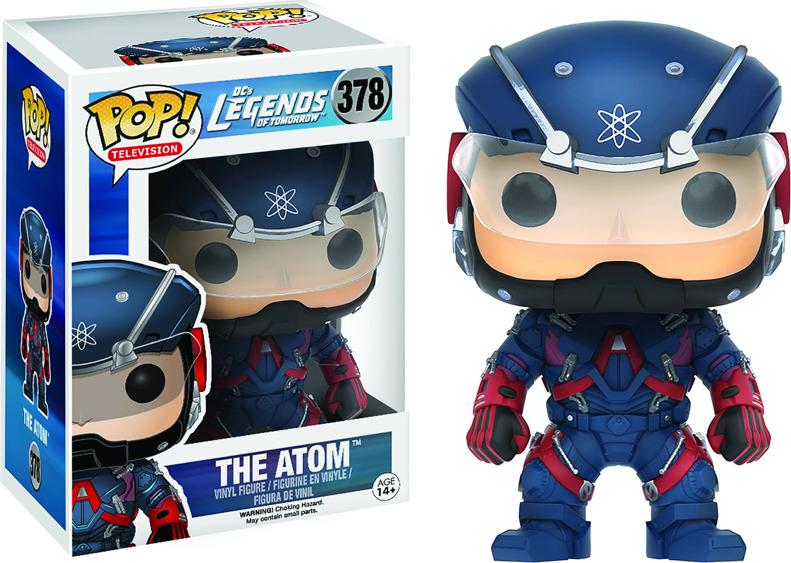 POP LEGENDS OF TOMORROW ATOM VINYL FIG