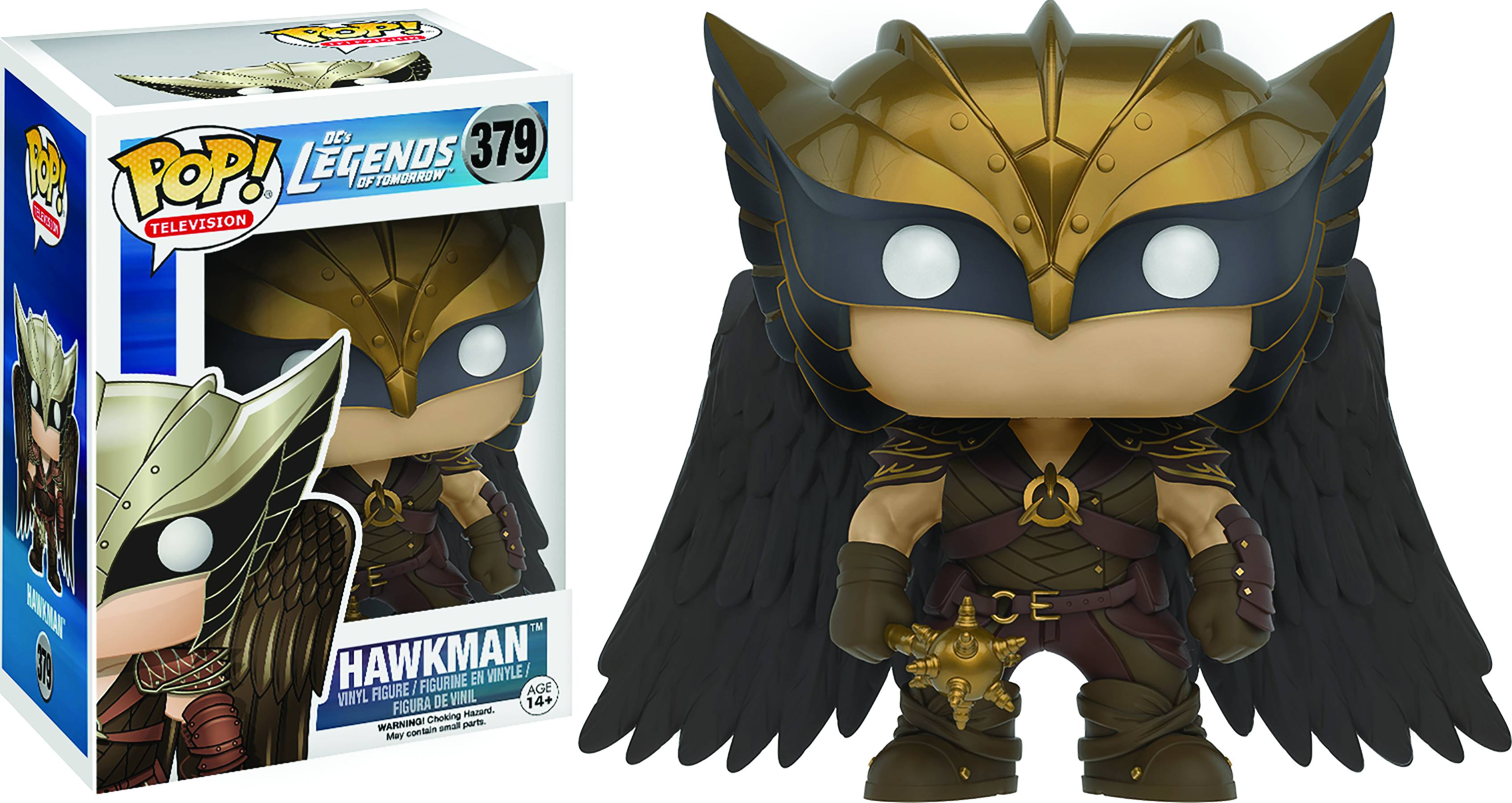 POP LEGENDS OF TOMORROW HAWKMAN VINYL FIG