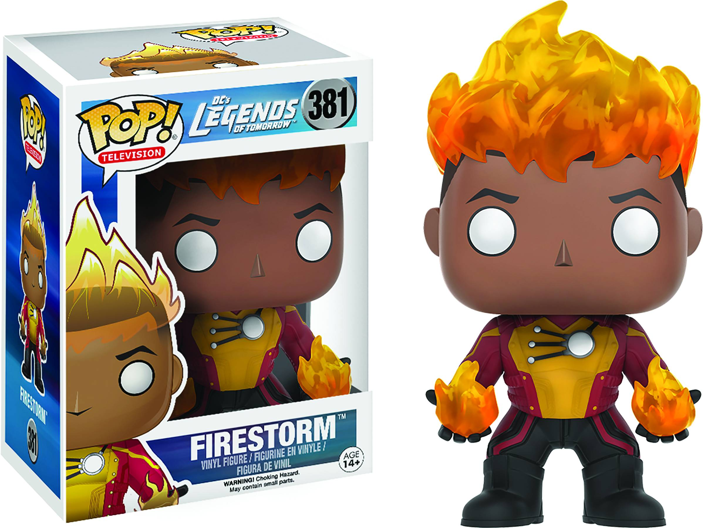 POP LEGENDS OF TOMORROW FIRESTORM VINYL FIG