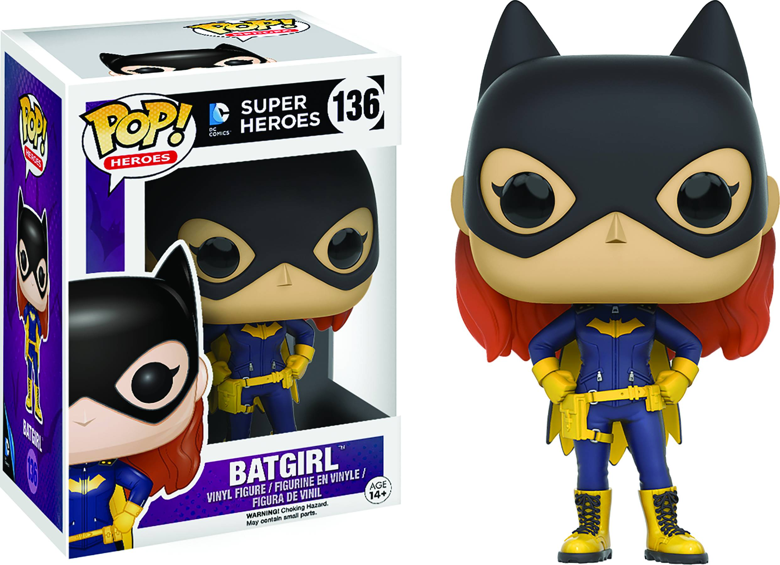 POP HEROES BATGIRL 2016 VINYL FIG