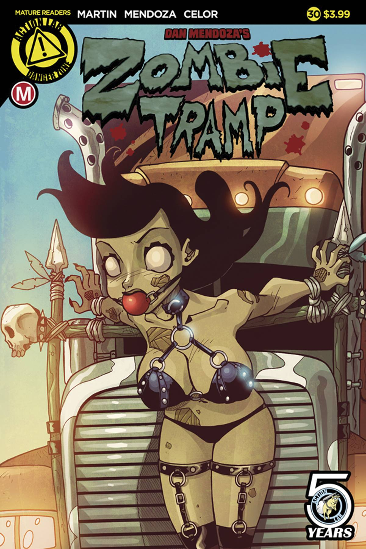 ZOMBIE TRAMP ONGOING #30 CVR A MENDOZA