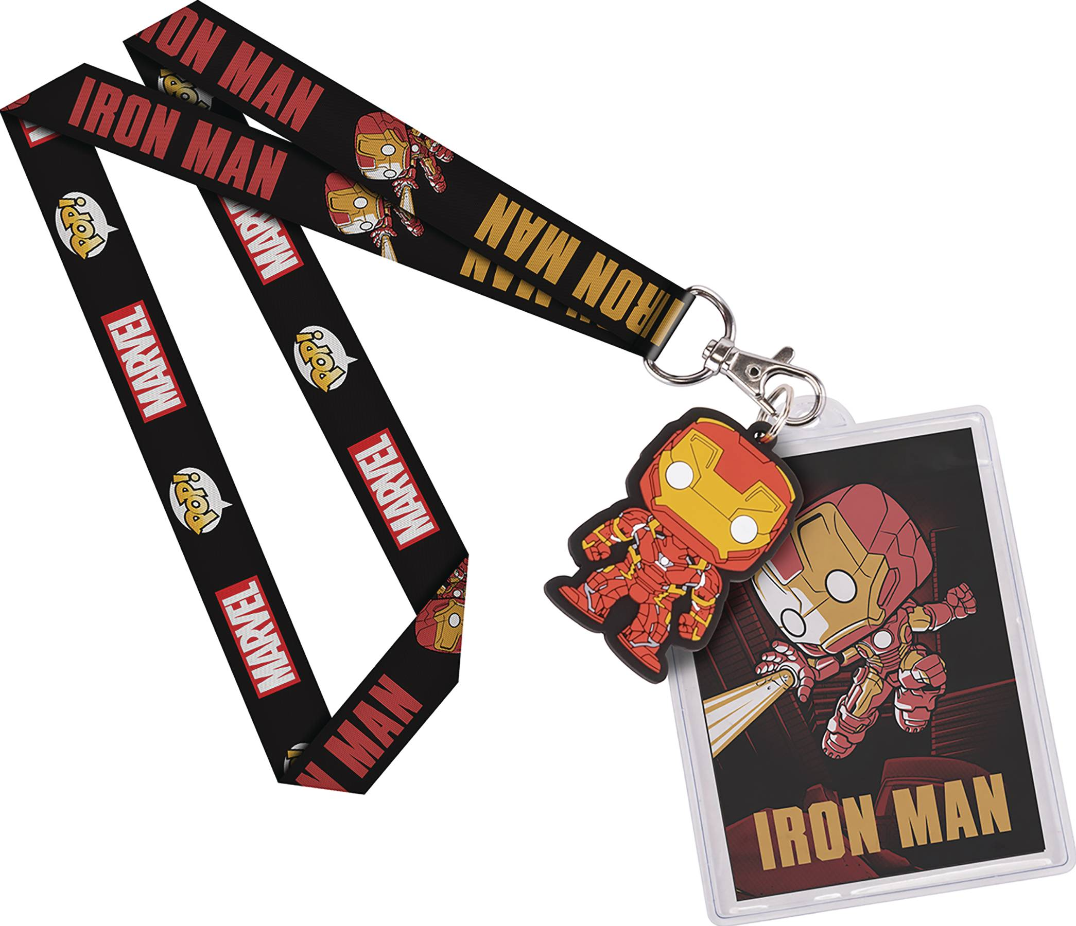 POP MARVEL IRON MAN LANYARD