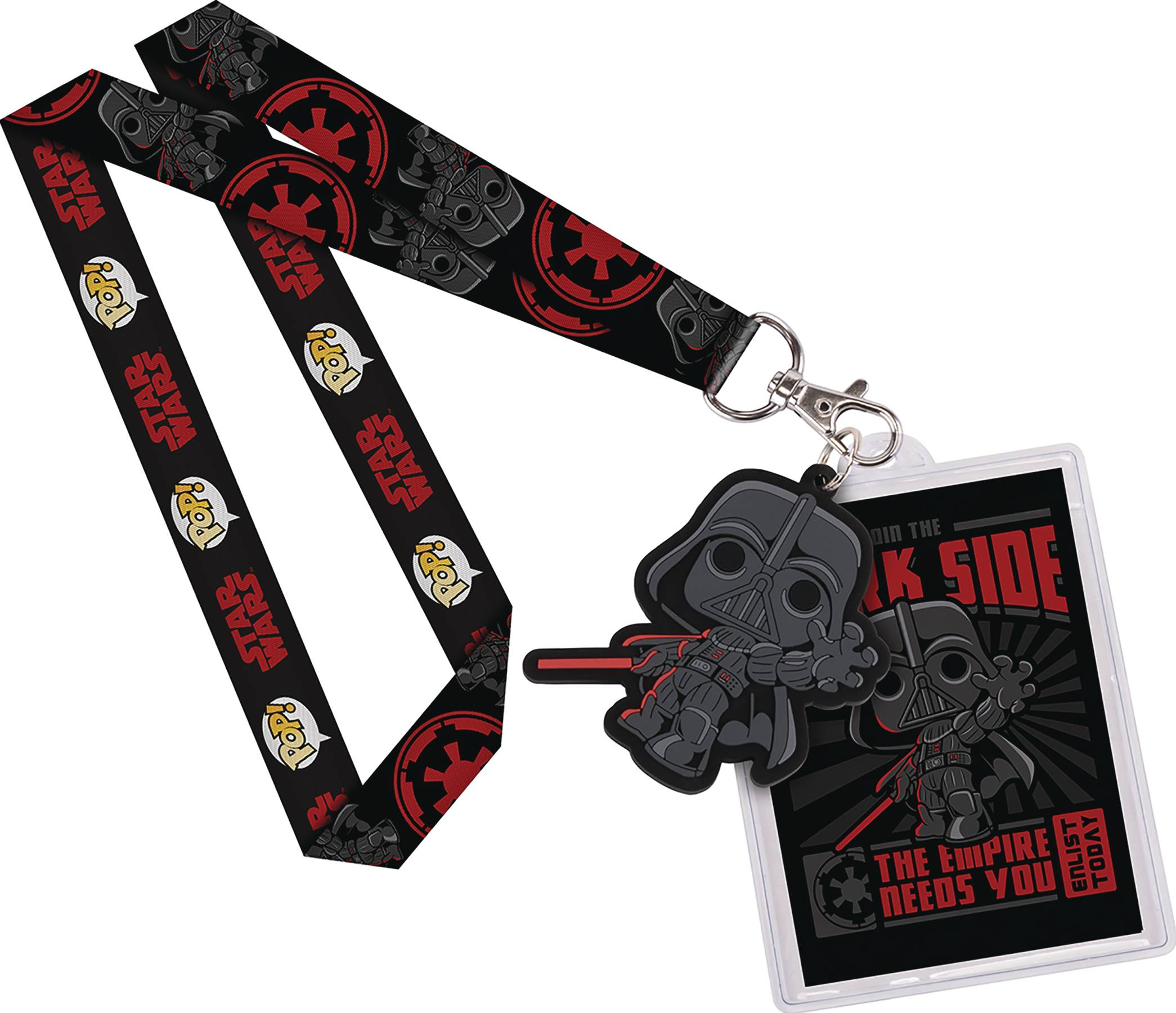 POP STAR WARS DARTH VADER LANYARD