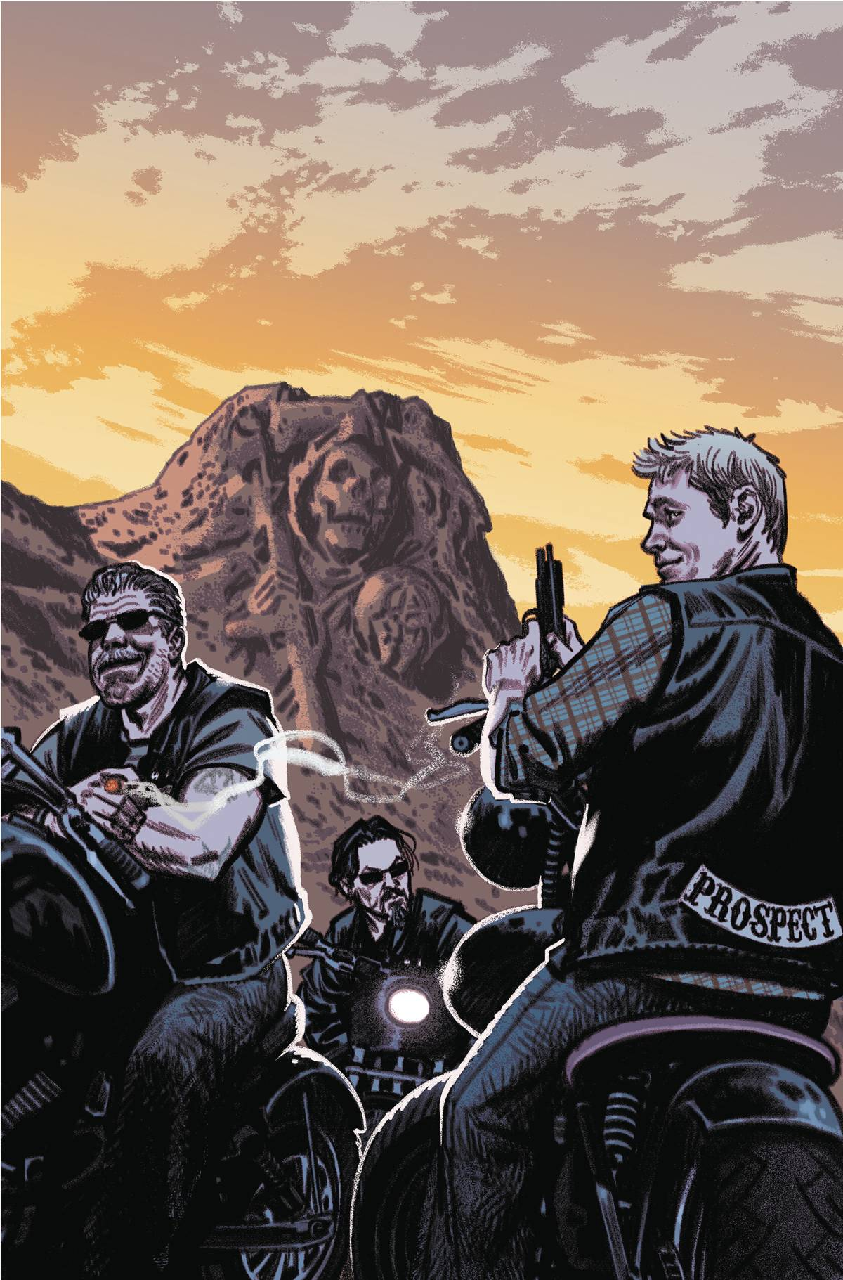 SONS OF ANARCHY REDWOOD ORIGINAL #5 SUBSCRIPTION SMALLWOOD V
