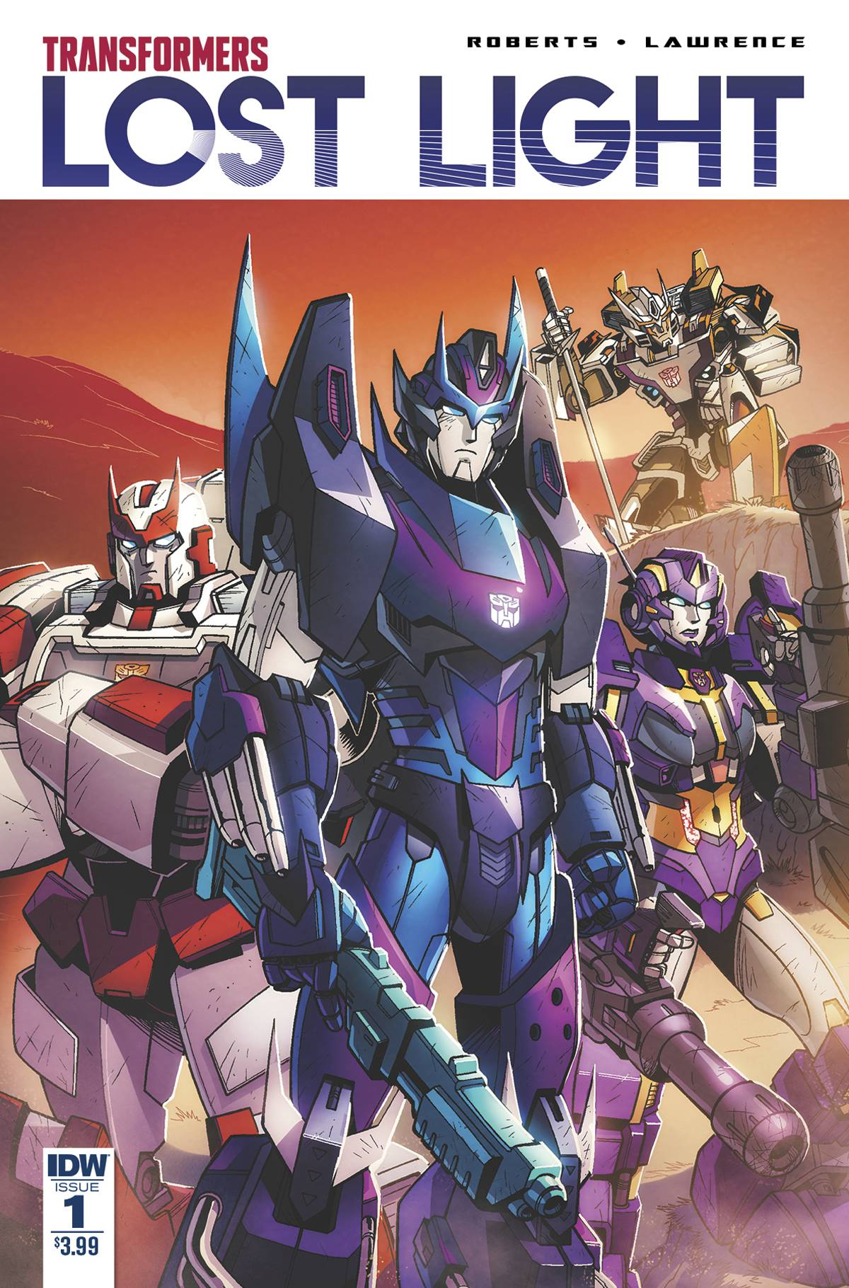 TRANSFORMERS LOST LIGHT #1