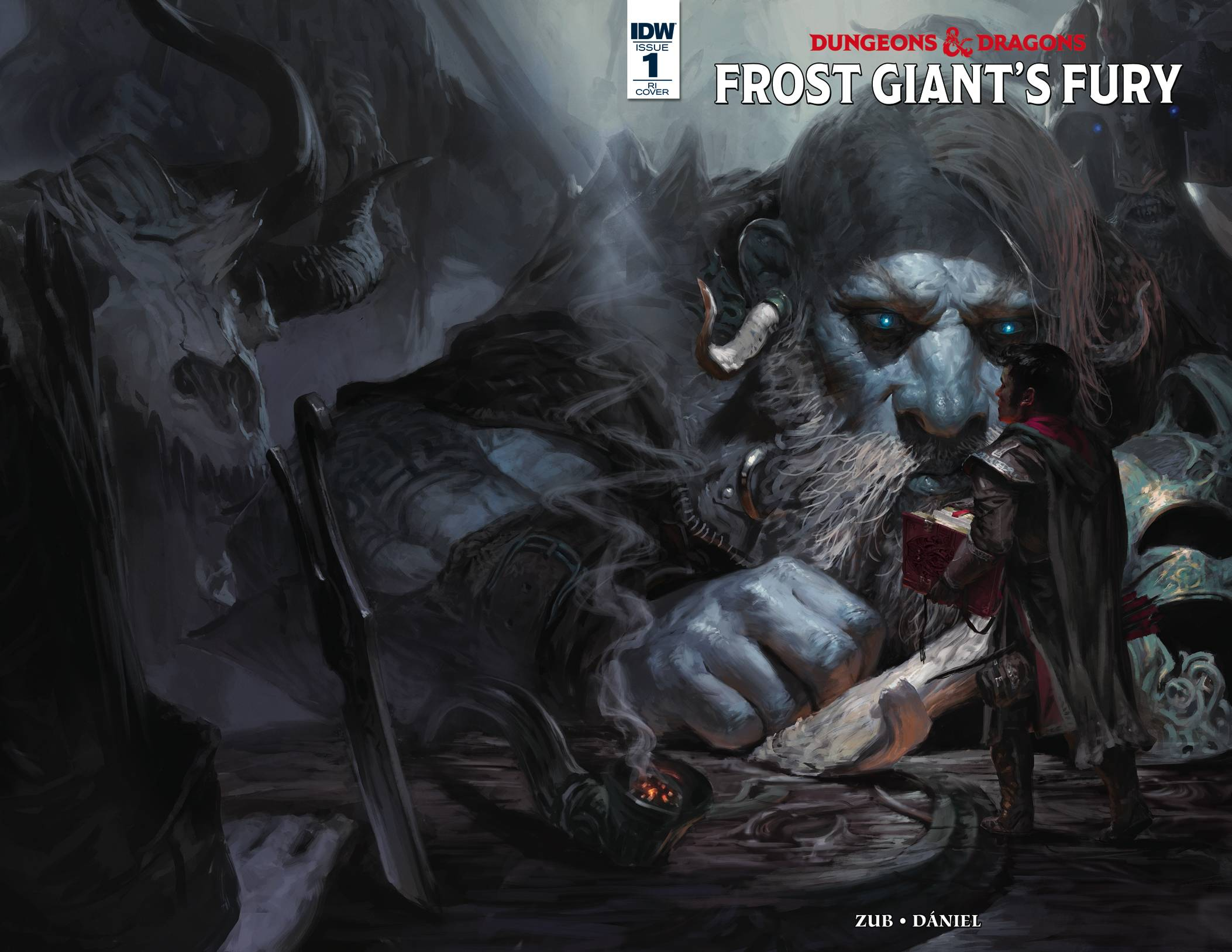 DUNGEONS & DRAGONS FROST GIANTS FURY #1 10 COPY INCV