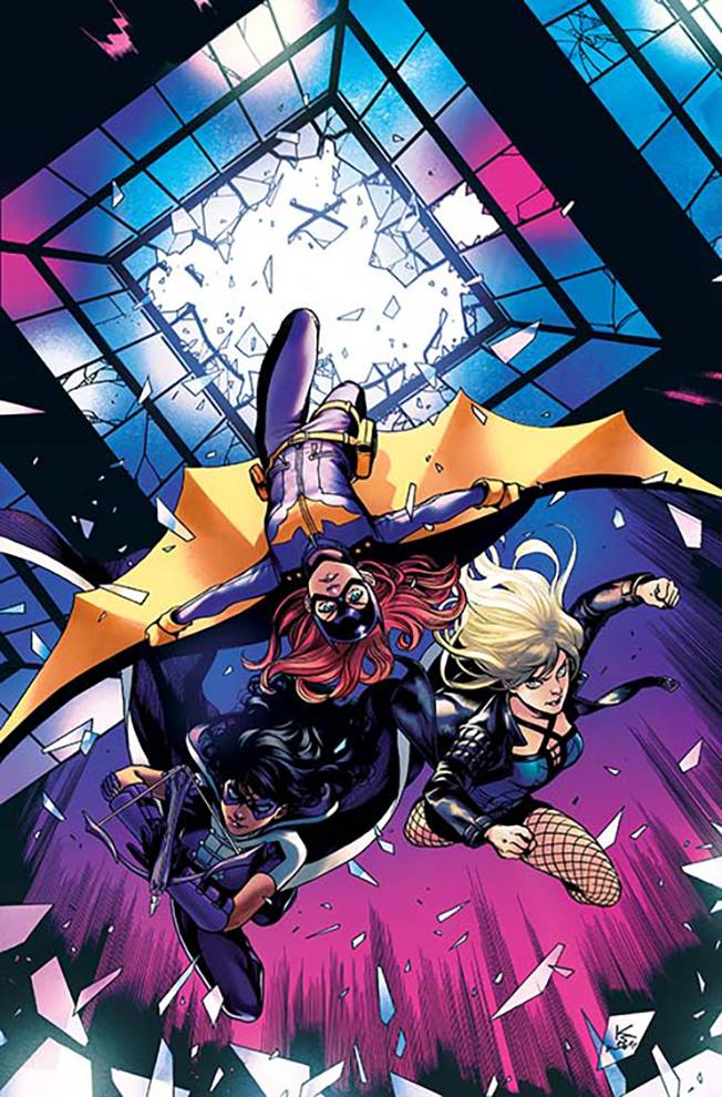 BATGIRL AND THE BIRDS OF PREY #5 VAR ED