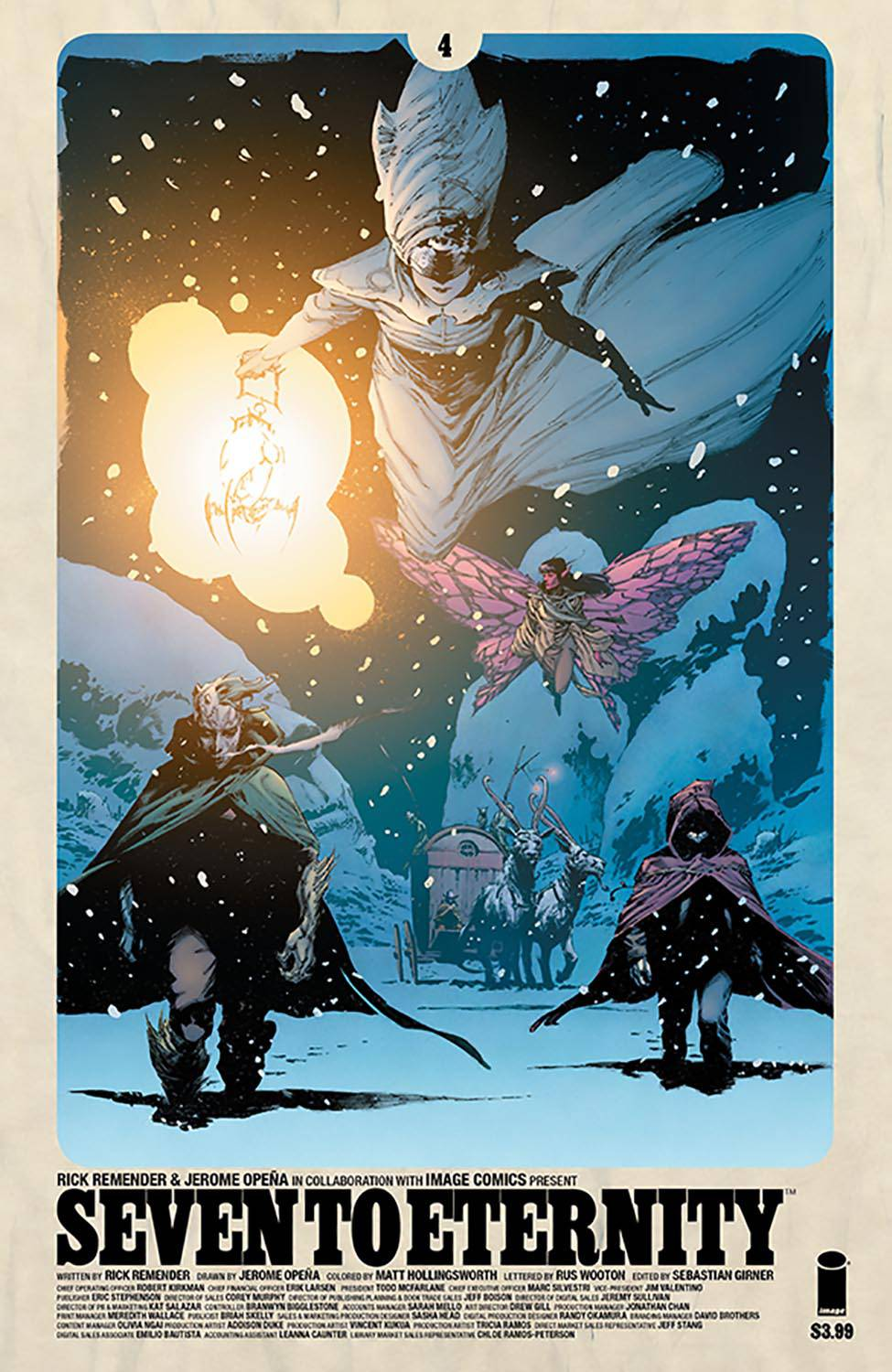 SEVEN TO ETERNITY #4 CVR A OPENA & HOLLINGSWORTH