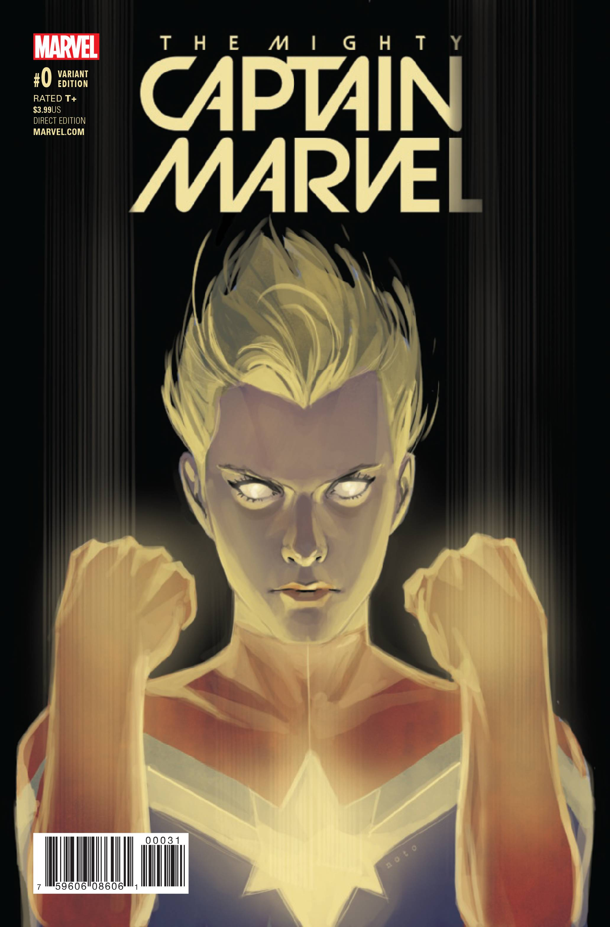 MIGHTY CAPTAIN MARVEL #0 NOTO VAR NOW