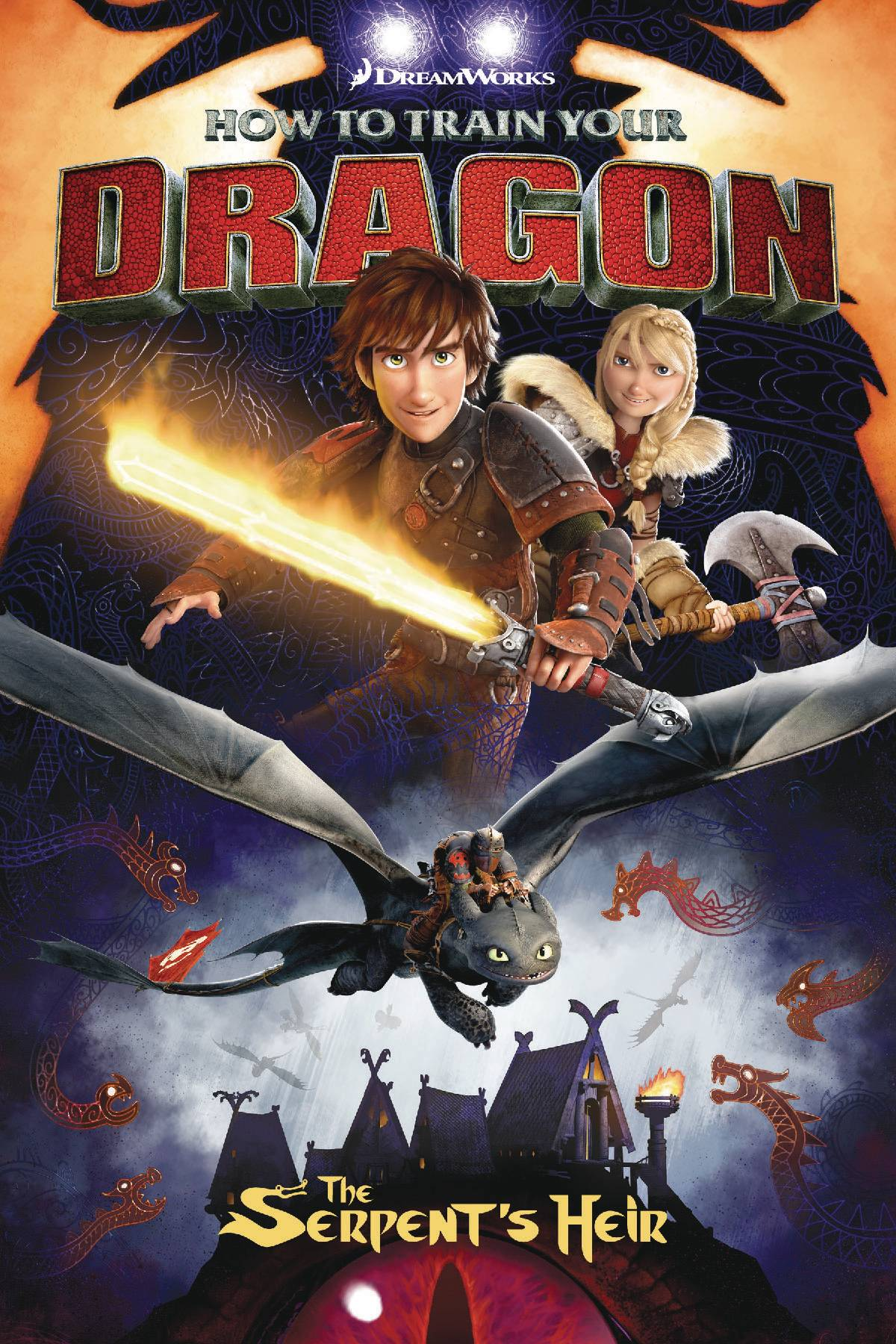 HOW TRAIN YOUR DRAGON TP VOL 01 SERPENTS HEIR