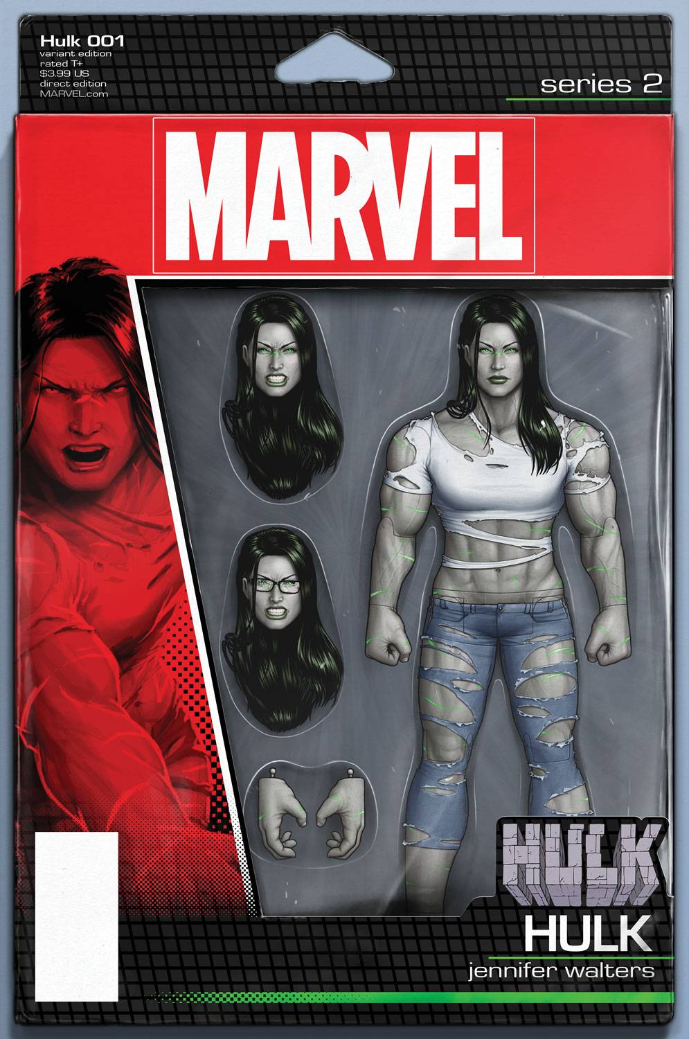 HULK #1 CHRISTOPHER ACTION FIGURE VAR NOW