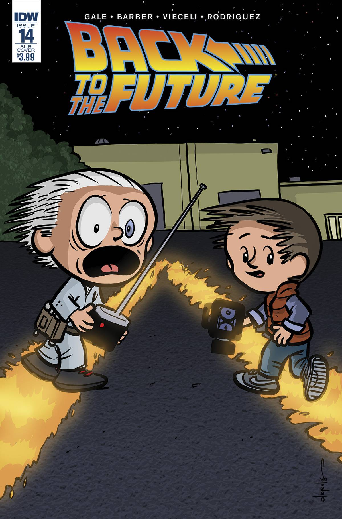 BACK TO THE FUTURE #15 SUBSCRIPTION VAR