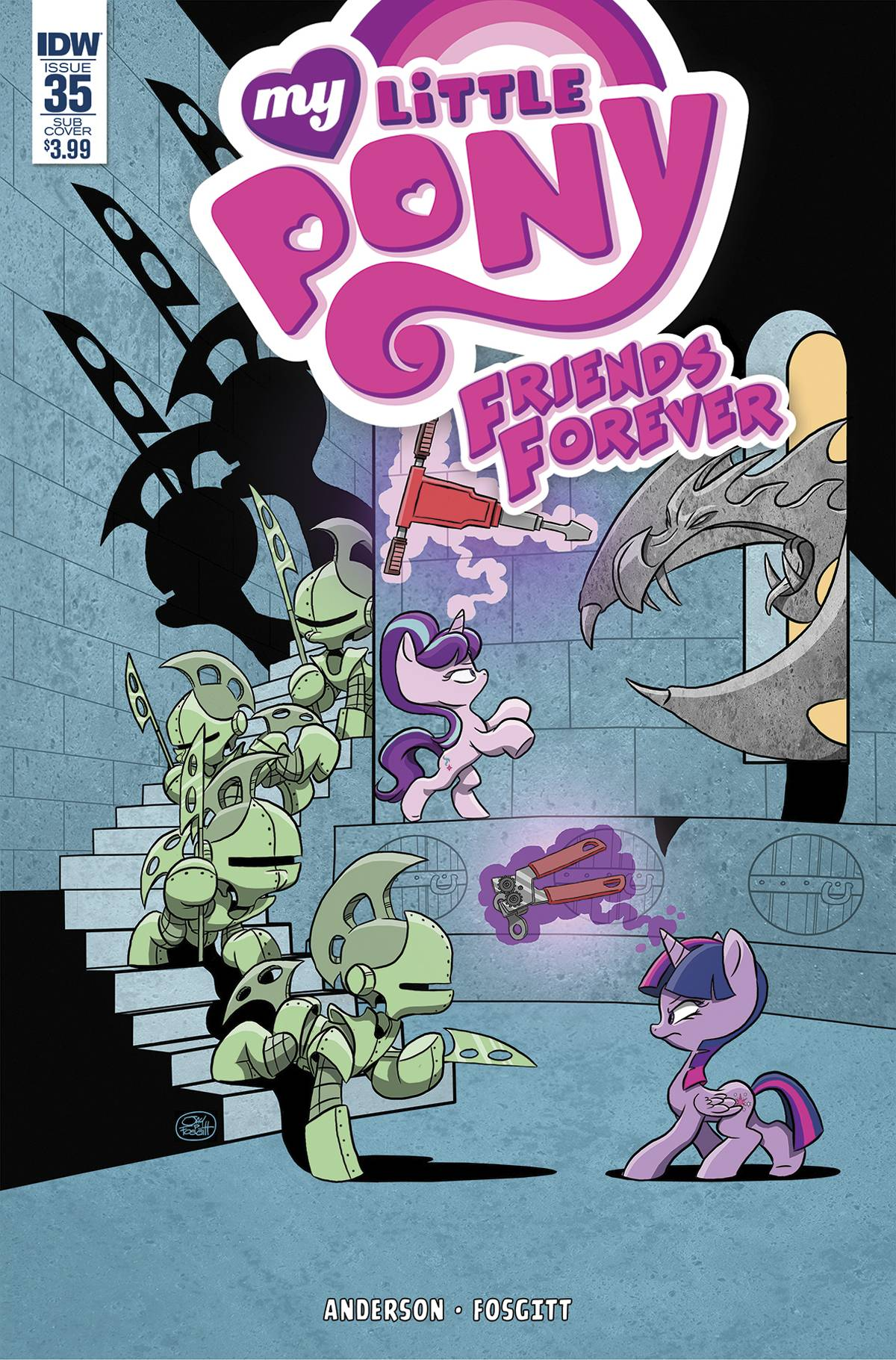 MY LITTLE PONY FRIENDS FOREVER #35 SUBSCRIPTION VAR