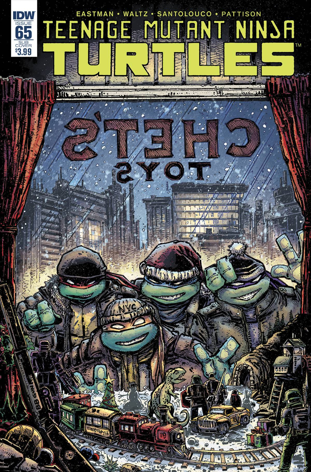 TMNT ONGOING #65 SUBSCRIPTION VAR